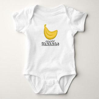 Body Para Bebé Logotipo de los plátanos que va