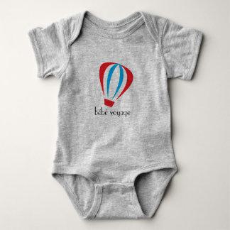 Body Para Bebé Logotipo del viaje de BeBe