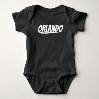 Body Para Bebé Logotipo retro de Orlando