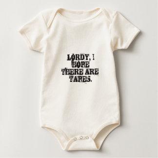 Body Para Bebé Lordy, espero que haya cintas