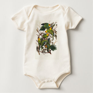Body Para Bebé Loro de Carolina - John James Audubon (1827-1838)