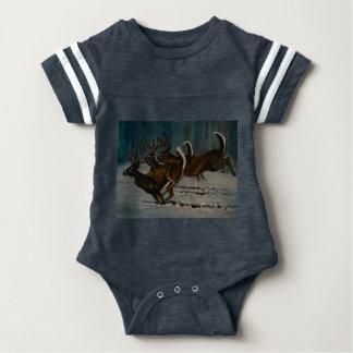 Body Para Bebé Los 3 ciervos