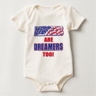 Body Para Bebé ¡Los americanos son soñadores también!