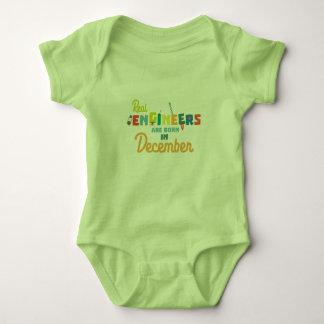 Body Para Bebé Los ingenieros son en diciembre Z6r6a nacidos