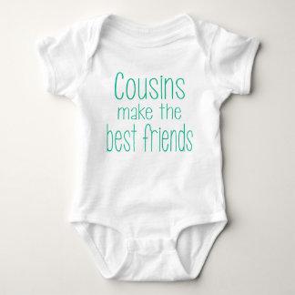 Body Para Bebé Los primos hacen los mejores amigos el equipo del