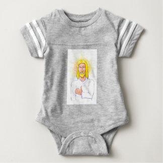Body Para Bebé Los pulgares suben a Jesús