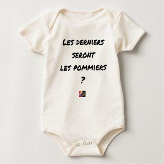 Body Para Bebé ¿LOS ÚLTIMOS SERÁN LOS MANZANOS? - Juegos de