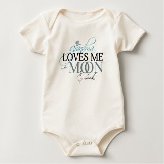Body Para Bebé Luna y parte posterior