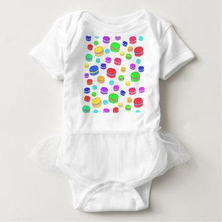 Body Para Bebé Macarrones coloridos