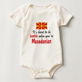 Body Para Bebé Macedonio humilde