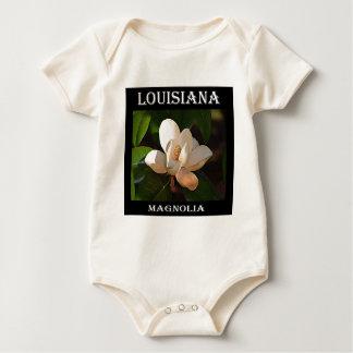 Body Para Bebé Magnolia meridional de Luisiana