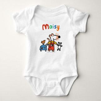 Body Para Bebé Maisy lista para las vacaciones con equipaje