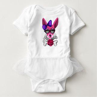 Body Para Bebé Malo al chica del hueso
