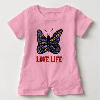 """Body Para Bebé """"Mameluco del bebé de la vida del amor"""""""