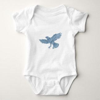 Body Para Bebé Mandala del vuelo del cuervo