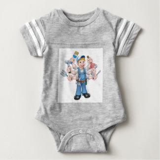 Body Para Bebé Manitas del dibujo animado