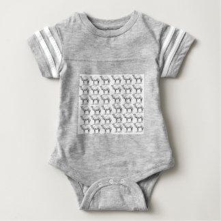 Body Para Bebé manojo de manada de los camellos