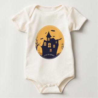 Body Para Bebé Mansión y palos fantasmagóricos de Halloween