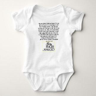 Body Para Bebé Mantenga el perro que el poema FNL DETRÁS