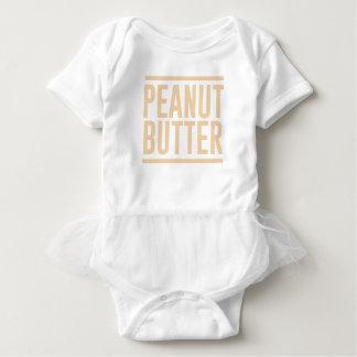 Body Para Bebé Mantequilla de cacahuete