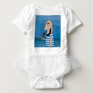 Body Para Bebé Marinero