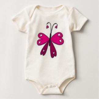 Body Para Bebé Mariposa básica