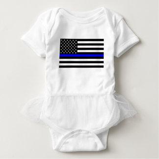 Body Para Bebé Materia azul de las vidas - la policía de la