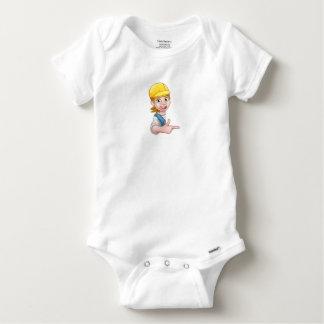 Body Para Bebé Mecánico o fontanero del carpintero de la manitas