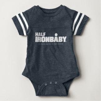 Body Para Bebé Medio mono del deporte del bebé del hierro