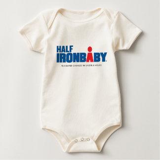 Body Para Bebé Medio mono orgánico del bebé del hierro
