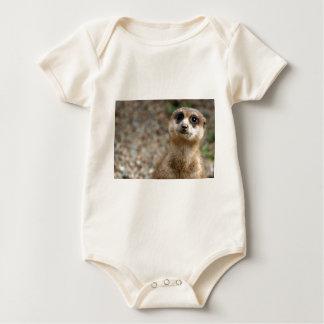 Body Para Bebé Meerkat Grande-Observado lindo