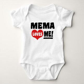 Body Para Bebé Mema me ama