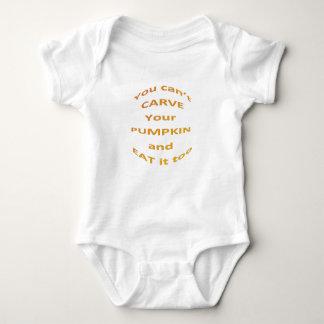 Body Para Bebé Mensaje de Halloween