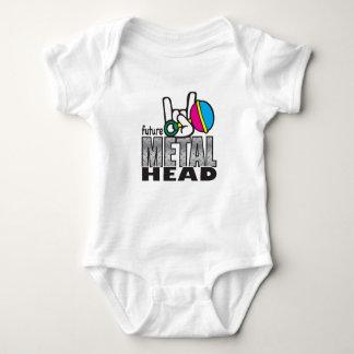 Body Para Bebé Metalhead futuro