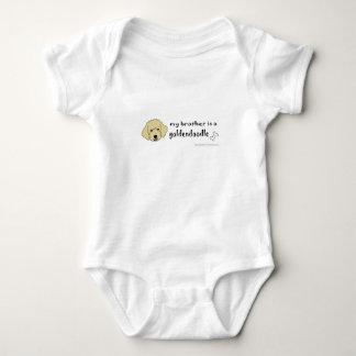 Body Para Bebé mi hermano de aaaoct6g es un goldendoodle - más