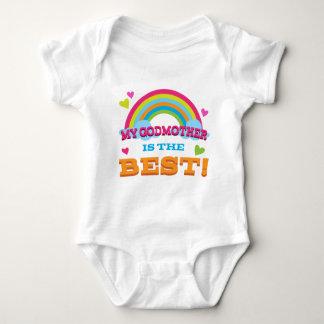 Body Para Bebé Mi madrina es el mejor