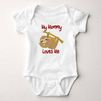 Body Para Bebé Mi mamá me ama pereza