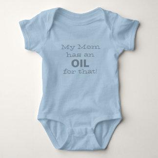 Body Para Bebé ¡Mi mamá tiene un aceite para eso!