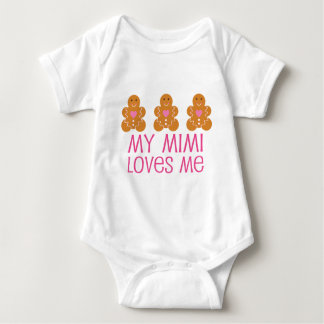 Body Para Bebé Mi Mimi me ama