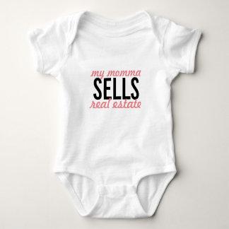 Body Para Bebé ¿Mi momma vende las propiedades inmobiliarias,