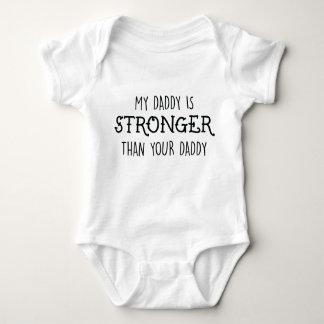 Body Para Bebé Mi papá es un mono más fuerte