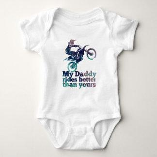 Body Para Bebé Mi papá monta mejor que el suyo