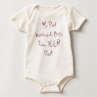 Body Para Bebé ¡Mi papá Wakeboards mejor que SU papá!