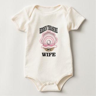 Body Para Bebé mi tesoro ocultado esposa sí