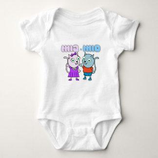 Body Para Bebé Mia y chaleco Mio del bebé