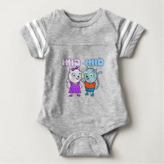 Body Para Bebé Mia y Mio