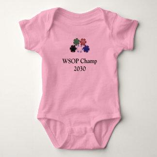 Body Para Bebé microprocesadores, campeón 2030 de WSOP