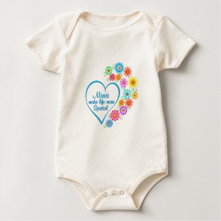 Body Para Bebé Mimi corazón especial