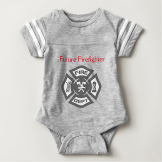 Body Para Bebé Mimi ropa futura del niño del bombero