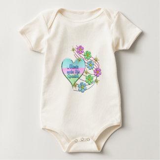 Body Para Bebé Mimis hace la chispa de la vida